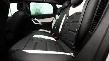 Citroen DS5 Hybrid4 rear seats