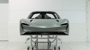 McLaren Speedtail - monocoque shell - front static
