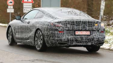 BMW 8 Series - spy shot rear