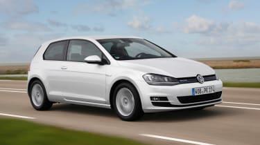 VW Golf BlueMotion 1.0 TSI front