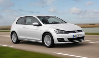 VW Golf BlueMotion 1.0 TSI front