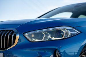 BMW 118i - headlight