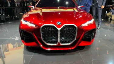 BMW Concept 4 - grille