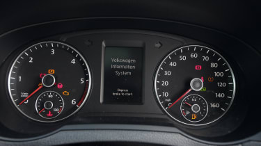 Used Volkswagen Sharan - dials