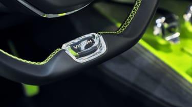 Skoda Vision X concept - steering wheel