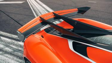 Koenigsegg Jesko 2021 production car - wing