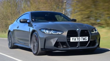 BMW M4 Competition - front