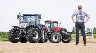 New Holland tractor feature