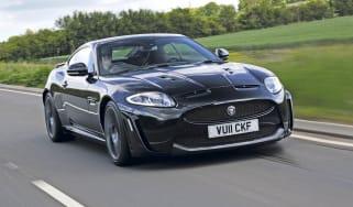 Jaguar XKR-S front track