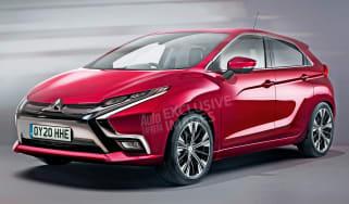 Mitsubishi Ford Fiesta rival