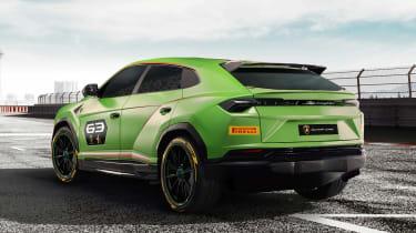 Lamborghini Urus ST-X - rear