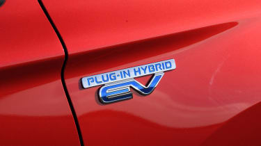 Mitsubishi Outlander PHEV - badge