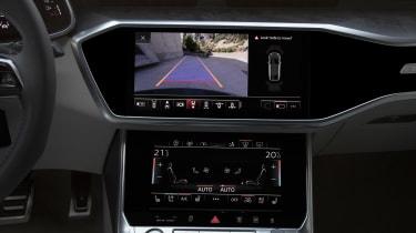Audi A7 Sportback - rear view camera