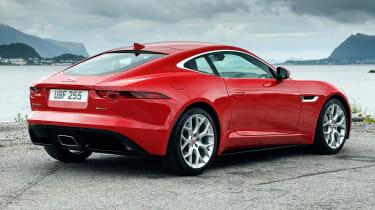 Jaguar F-Type 4-cyl review - rear