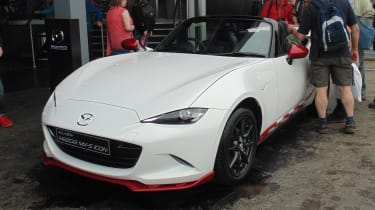 Mazda MX-5 Icon - front Goodwood