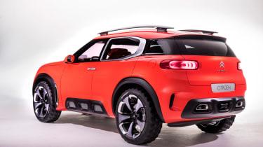 Citroen Aircross concept - rear