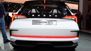Skoda Vision RS - Paris full rear