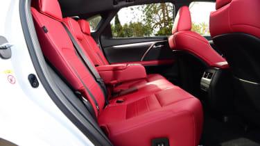 Lexus 450h F Sport - rear seats