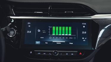 Vauxhall Corsa-e - infotainment