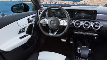 New Mercedes A-Class - interior
