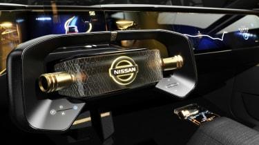 Nissan IM concept - steering wheel
