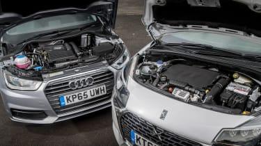 Audi A1 vs DS 3 - engines