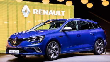 Renault Megane Sport Tourer - Geneva show front