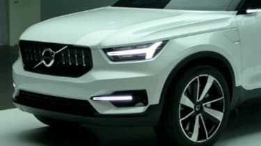 Volvo 40.1 concept detail