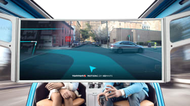 Rinspeed Snap - screen