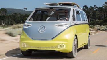 Volkswagen I.D. Buzz concept review - front