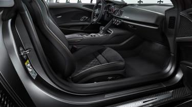 Audi R8 V10 Decennium - cabin
