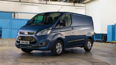 Ford Transit Custom - front static blue