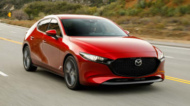 Mazda 3 - front tracking