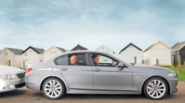 BMW 5-Series header.