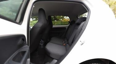 Skoda Citigo Black Edition rear seats