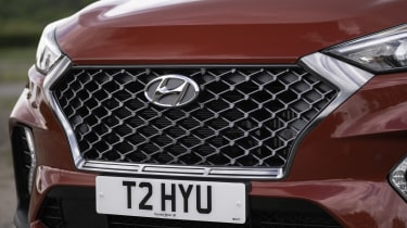 Hyundai Tucson N Line - front grille