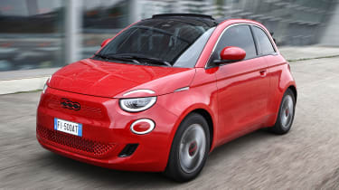 Fiat 500(RED) - front action