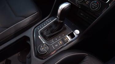 Volkswagen Tiguan - centre console