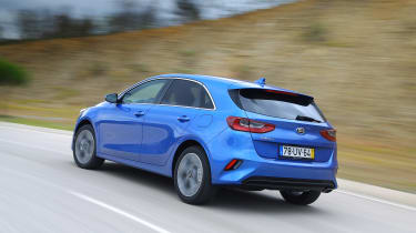 Kia Ceed - rear action