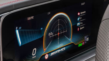 Mercedes-AMG GLE 53 - dials