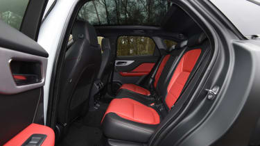 Jaguar F-Pace - back seats