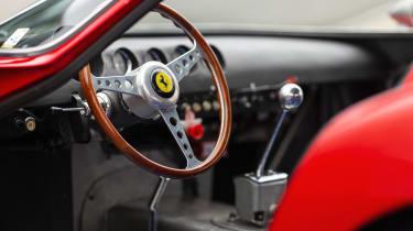 Ferrari 250 GTO - interior