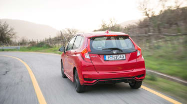 Honda Jazz - rear panning