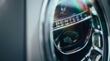 Bentley Bentayga Hybrid - light detail