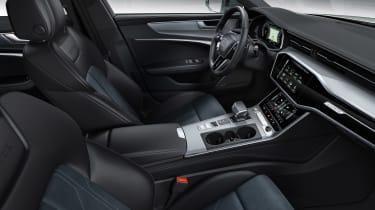 Audi A6 allroad quattro - front seats