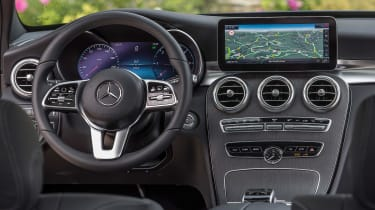 Mercedes C-Class Estate - dash