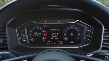 Audi A1 Citycarver - dials