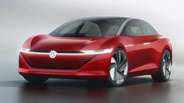 Volkswagen I.D Vizzion - studio front