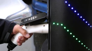 Electric car charging in the UK - Chargemaster public charge point