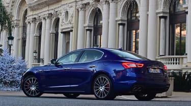 Maserati Ghibli facelift - rear static